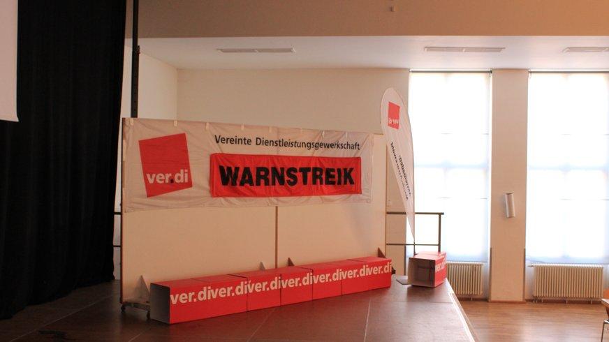 Warnstreik DP AG am 16.02.2018